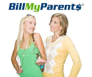 BillMyParents Prepaid MasterCard