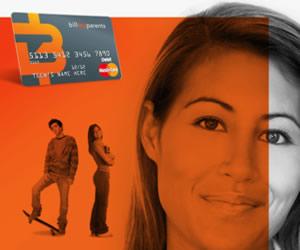 Bill My Parents & MasterCard Team for Prepaid Card
