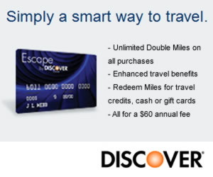Discover Escape Credit Card