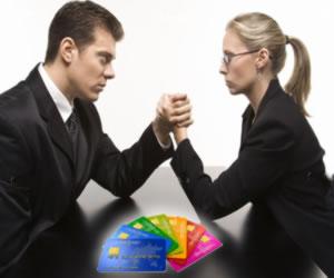 Gender discrimination. Choosing credit cards