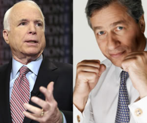 Ut Oh: Trouble Brewing Between McCain, Dimon