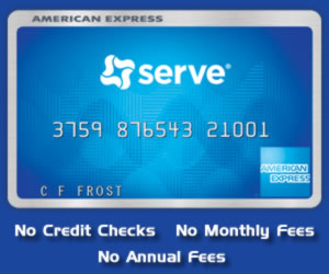 American Express Serve Prepaid Card