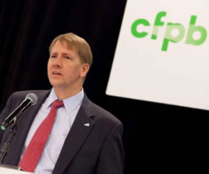 CFPB Chief Touts Success